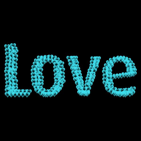 Love Heart Typography Redux 12