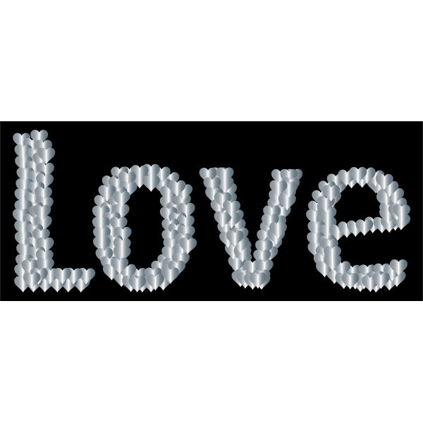 Love Heart Typography Redux 13