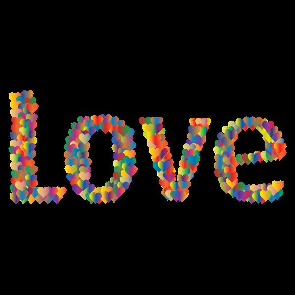 Love Heart Typography Redux 3