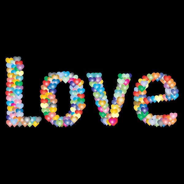 Love Heart Typography Redux 4