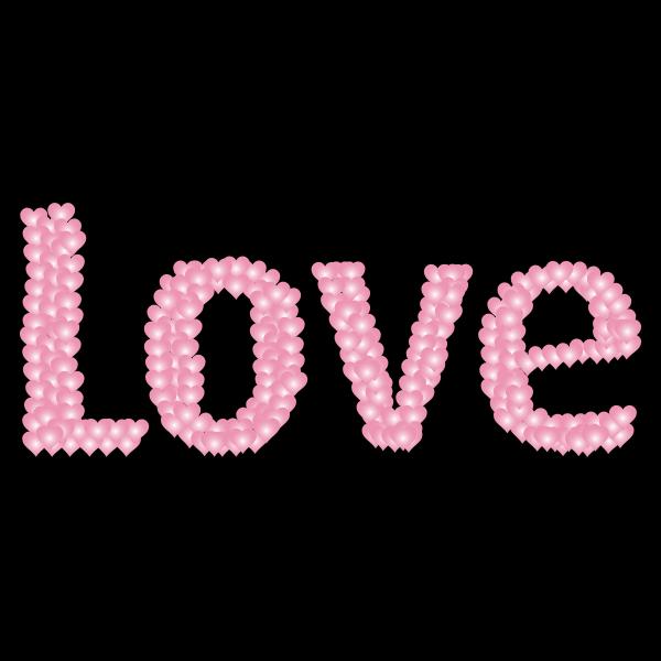 Love Heart Typography Redux 7