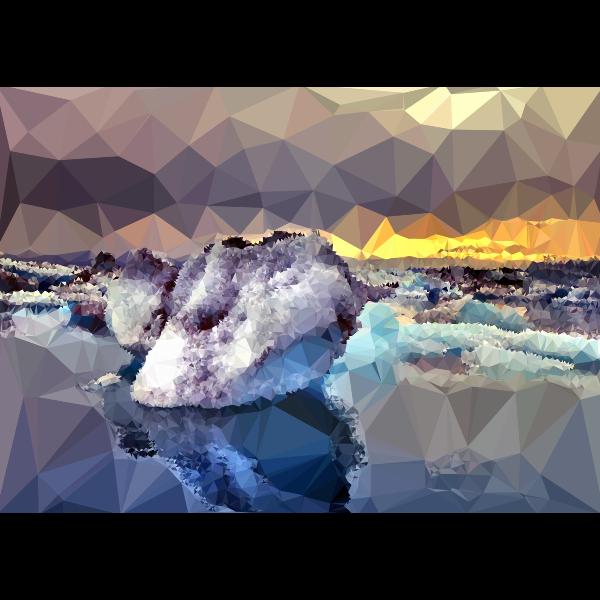 Low Poly Arctic Ice