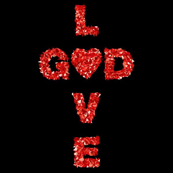 Low Poly Love GOD 3