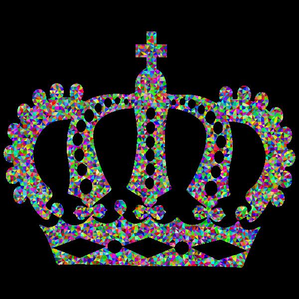 Low Poly Prismatic Royal Crown