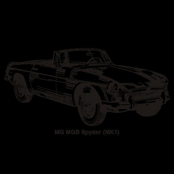 MG MGB MK1 1962