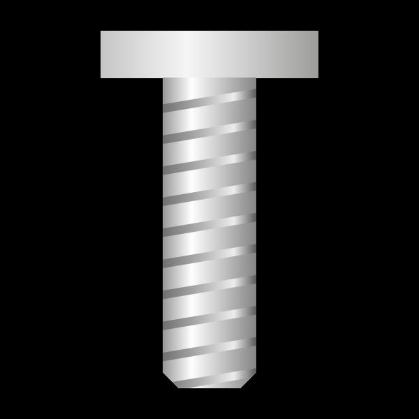 Silver screw