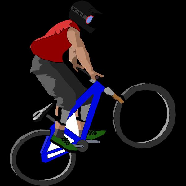 Biker drawing