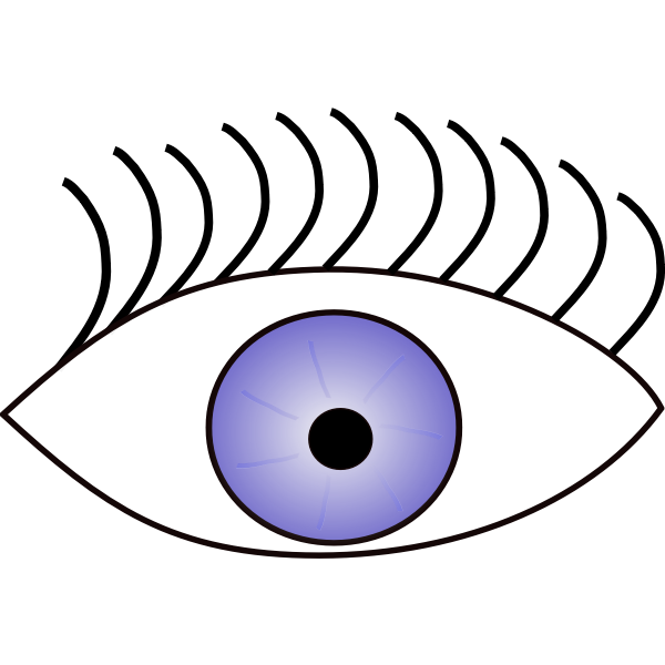 Eye vector graphics
