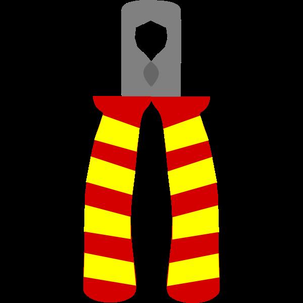Machovka pliers vector clip art
