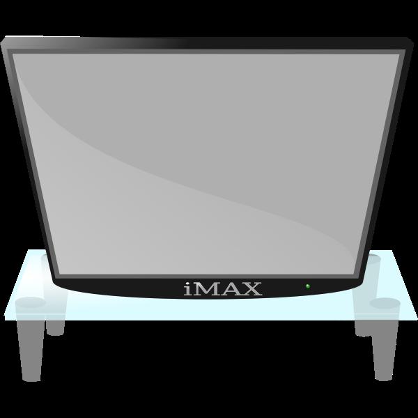 Modern TV vector image