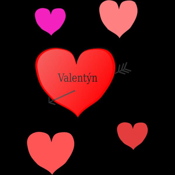 Valentine's Day symbol vector illustration