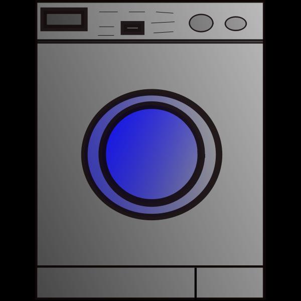 Washing machine vector icon