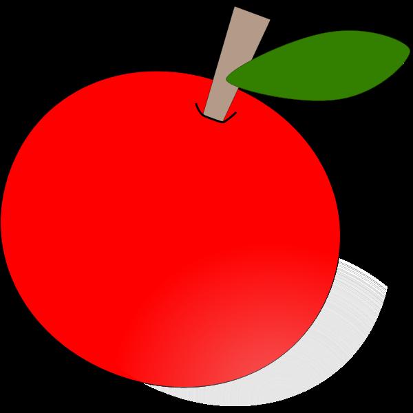 Apple vector drawing