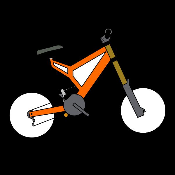 BMX bike vector