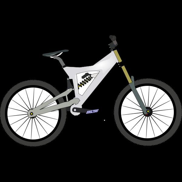 Bike vector graphics