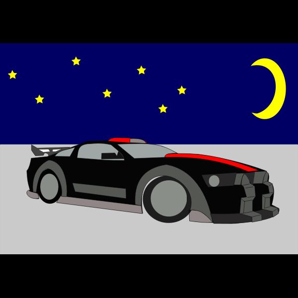 Racing car vector graphics
