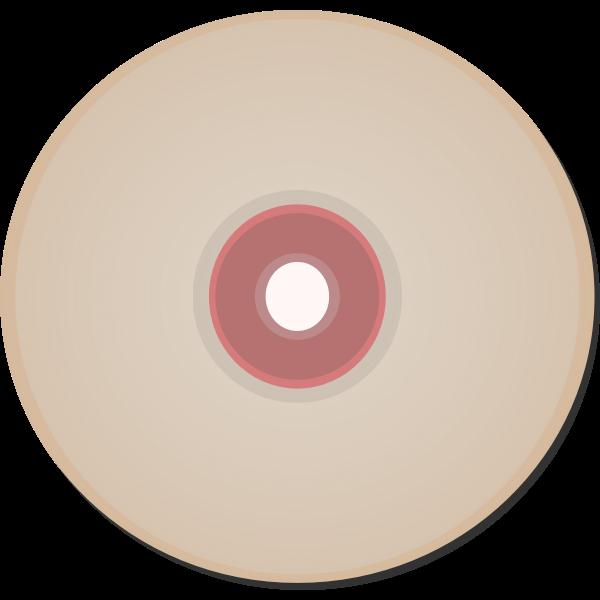 Compact disc vector clip art