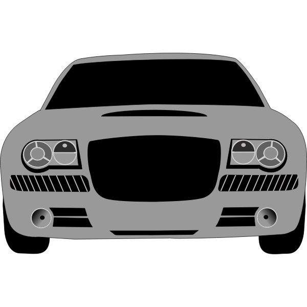 Luxury car vector image