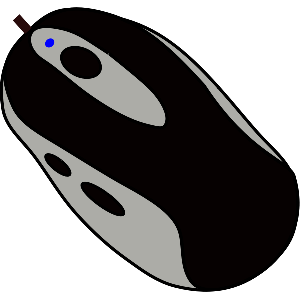 Computer mouse vector graphics