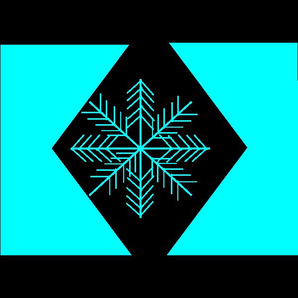 Snowflake illustration vector