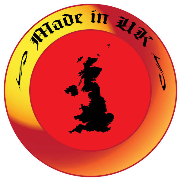 Made in UK decal