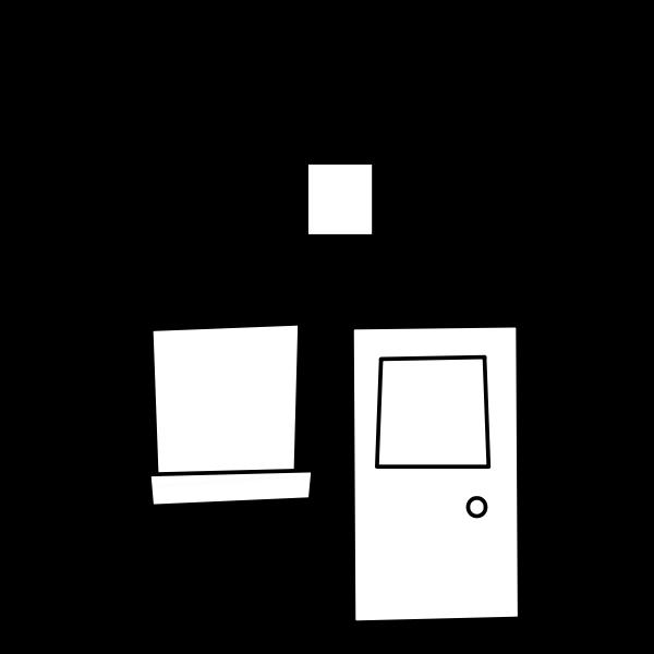 House vector sketch