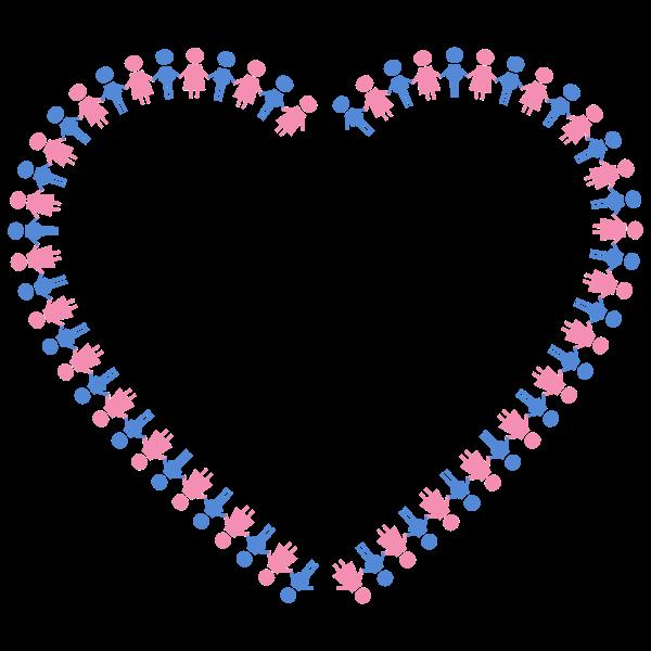 Heart border image