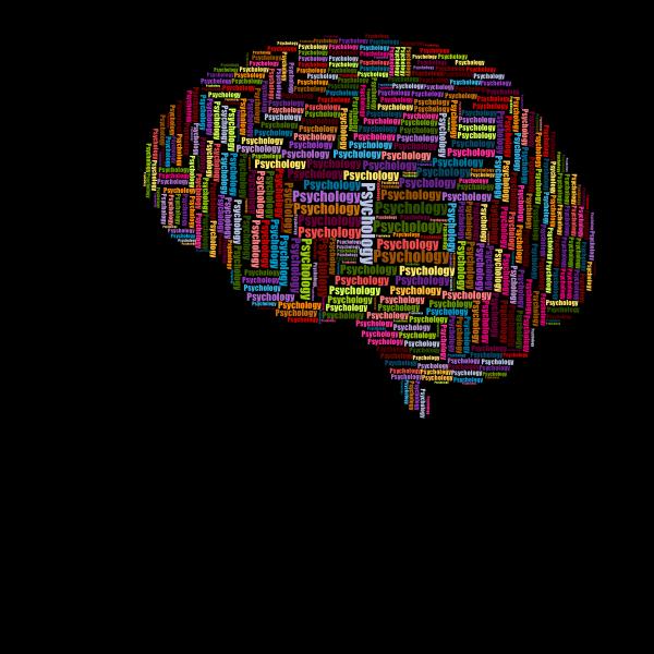 Man Head Psychology Brain Wordcloud