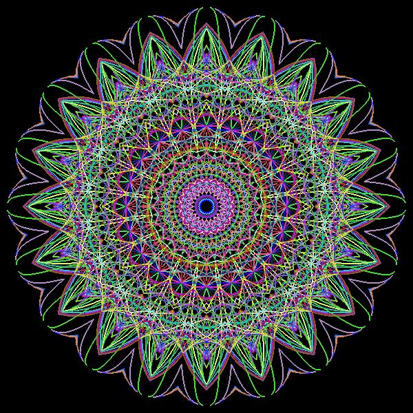 Mandala Burst No BG