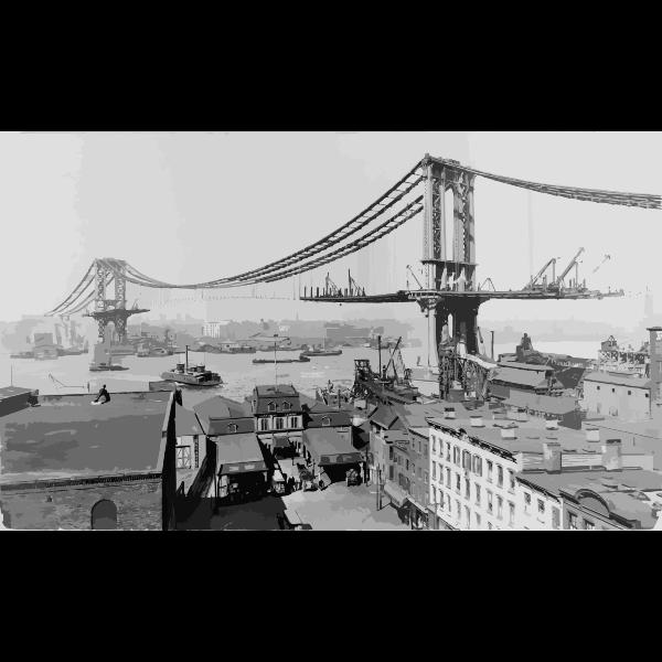 Manhattan Bridge Construction 1909 2016052844
