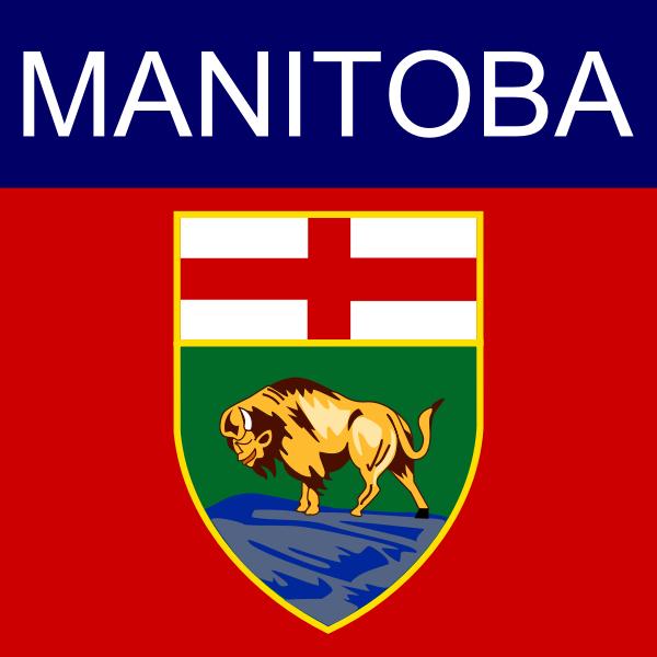 Manitoba symbol vector image