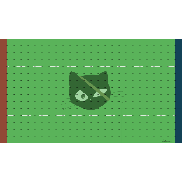 Blood bowl pitch vector image