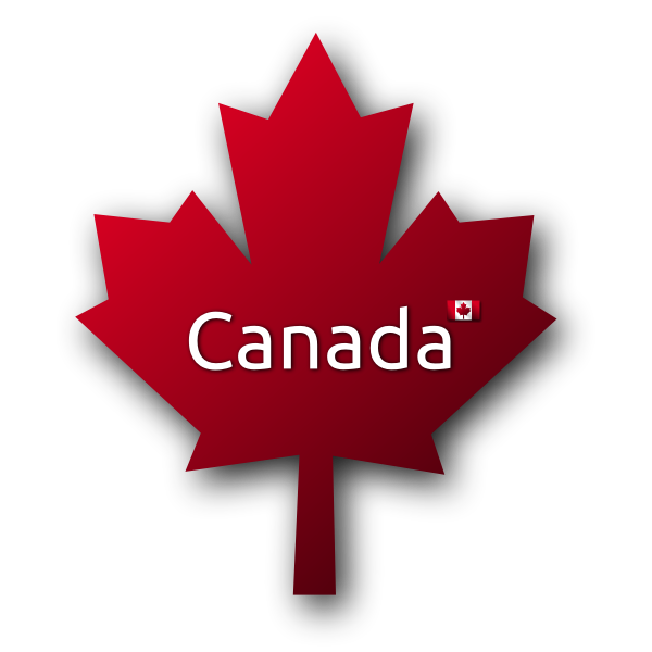Canadian maple leaf symbol