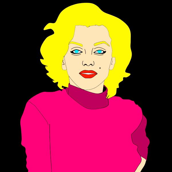 Marilyn Monroe Illustration