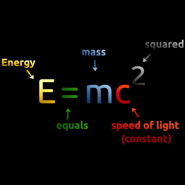 Mass - Energy Equivalence Formula 2