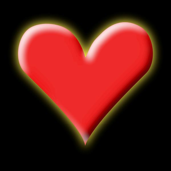 Heart vector clip art