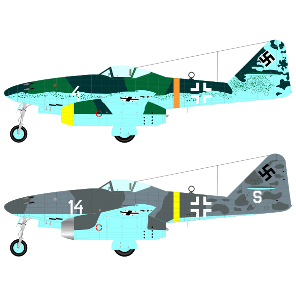 Messerschmitt 262 aircraft