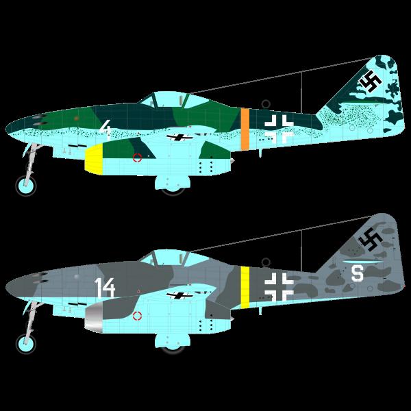 Messerschmitt 262 aircraft
