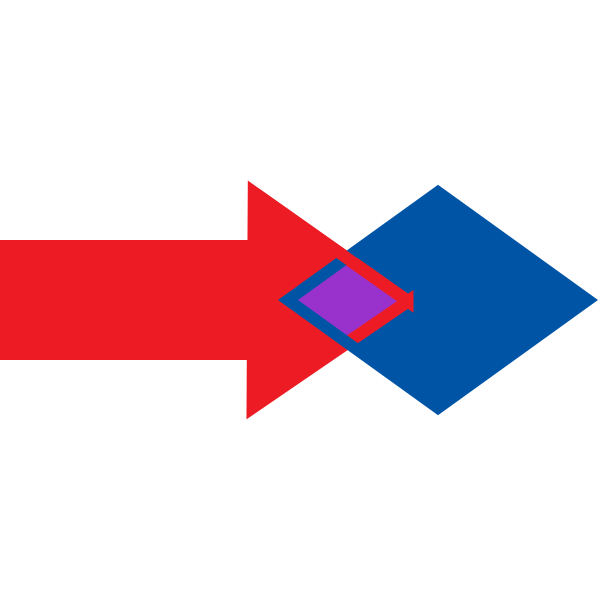 merge arrow
