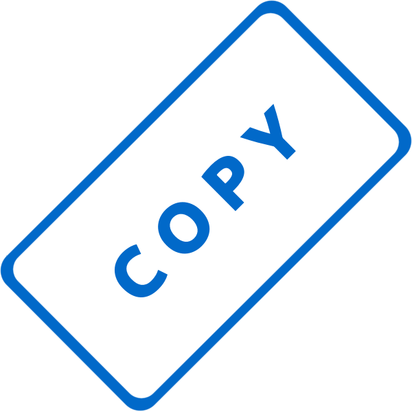 Copy Stamp Vector