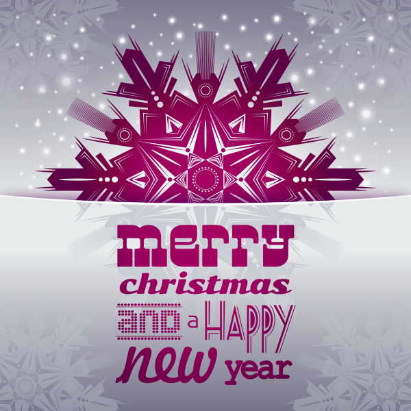 Merry Christmas and a Happy New Year Card 2