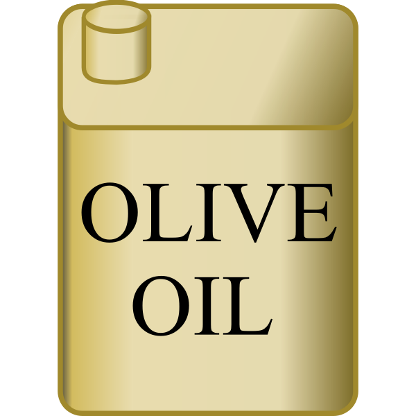 Metal Olive Oil Container