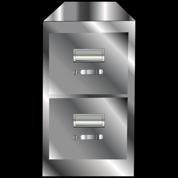 Metallic Filing Cabinet