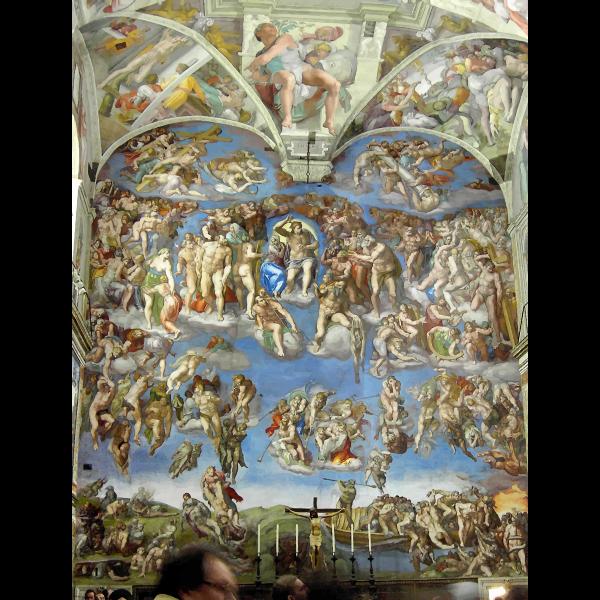 Michelangelo The Last Judgement