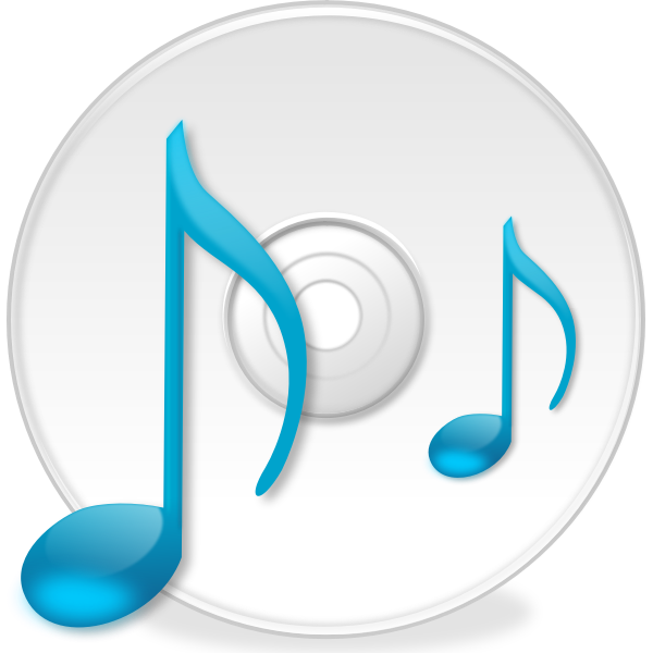 Vector drawing of CD icon