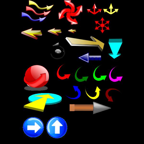 Mixed Arrows