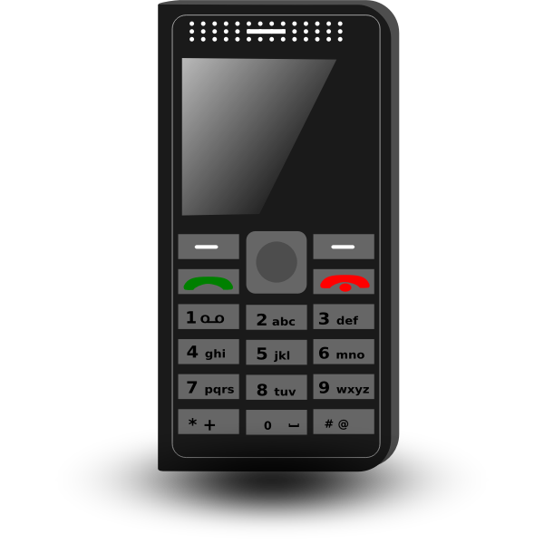 Cellphone vector image