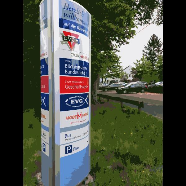 Modern Signpost 2015071540