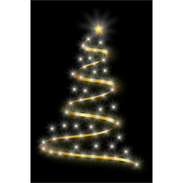 Glossy Christmas Tree