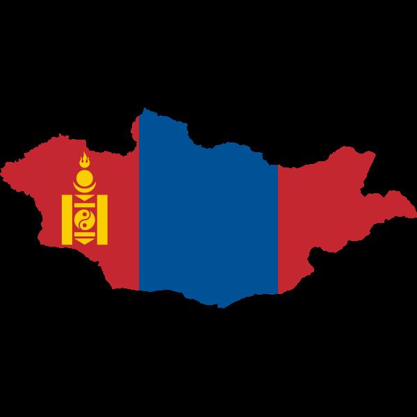 Mongolia's map